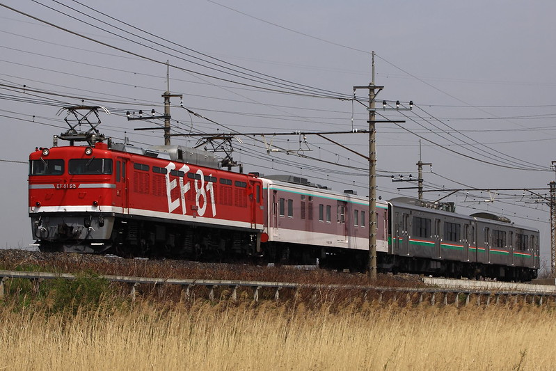EF81 95+Type Mani50+series701 Sendai color