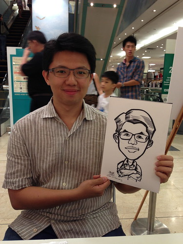caricature live sketching for Takashimaya Good Friday Special - 39