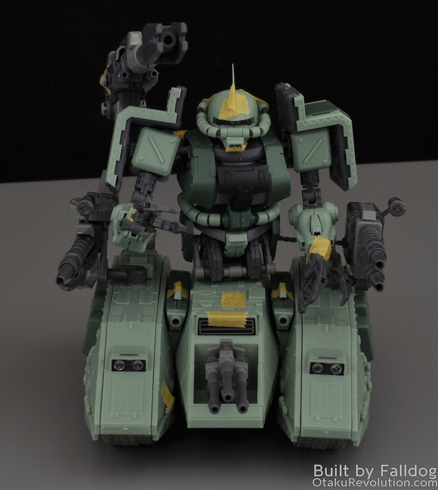 Motor King - 1-100 Zaku Tank Review 10