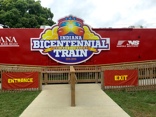 Bicentennial Train exhibit