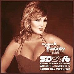 So excited to be performing @ozneworleans  and @thebourbonpubandparade  for Southern decadence 2016 !! Performing Wednesday, August 31 at Oz with Persana Shoulders & The following Monday at Bourbon Pub September 5th In the Lipstixxx show with Aubrey Sincl