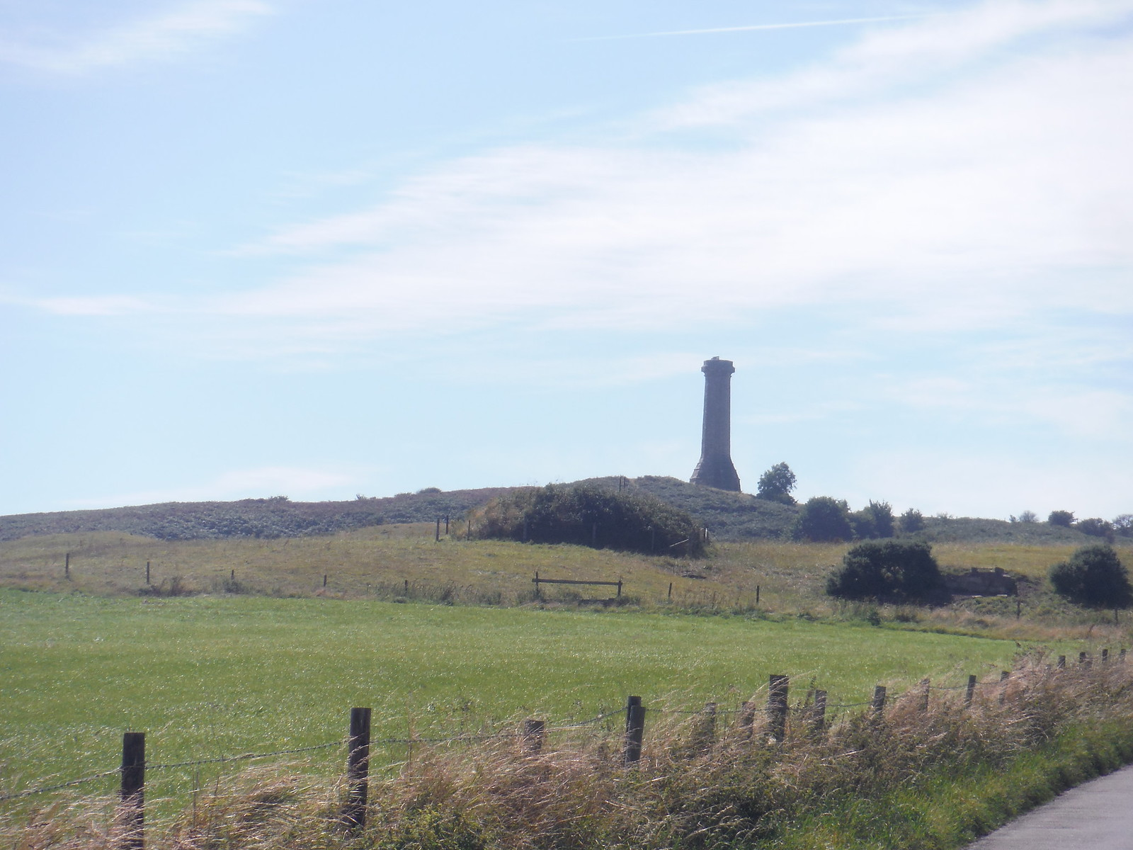 Hardy Monument on Black Down SWC Walk 275 Dorchester South Circular or to Portesham