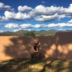 another beautiful day in Santa Fe #newmexicotrue #santafe #nofilter