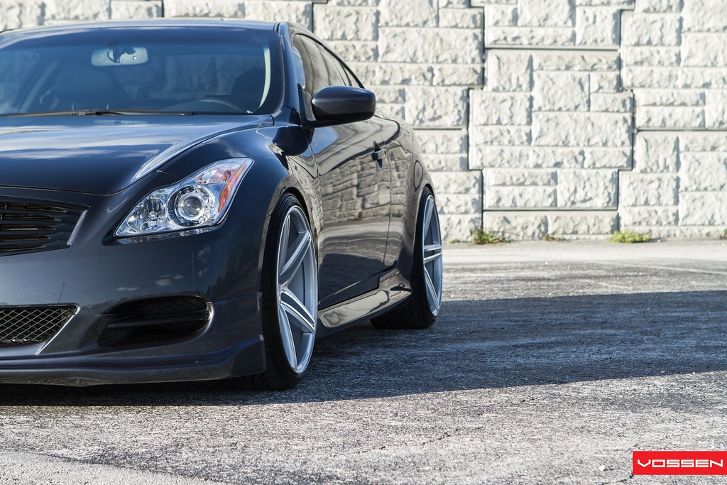 Blue Slate G37 On Polished Vvs Cv5s Vossen Video Photoshoot 6speedonline Porsche Forum And Luxury Car Resource