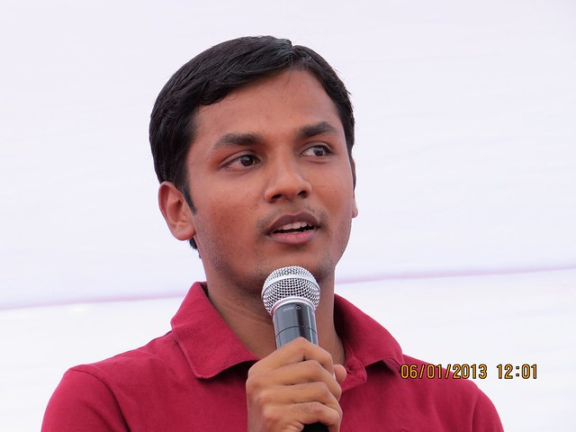 "Apurva Jain at Bhoomi Poojan of Sanjeevani Parth Developers' ""Davabindu"" at Sus Gaon, Pune"