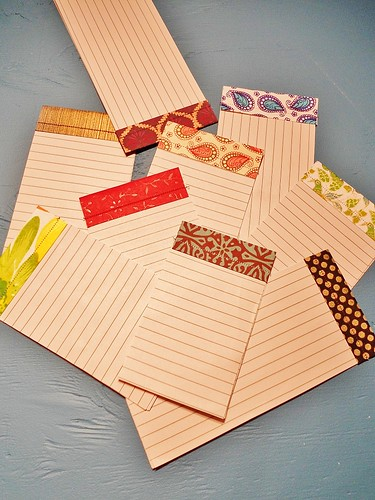 Scrappy Sewn Note Pad