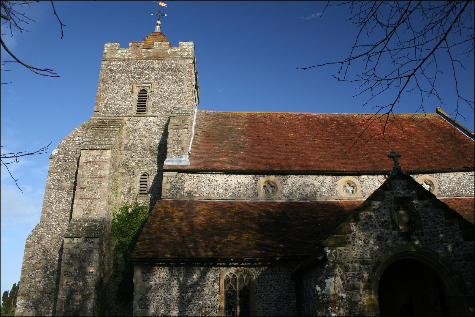 Firle church, East Sussex