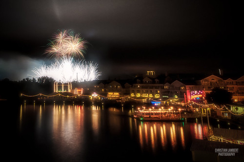 Fireworks From the Boardwalk