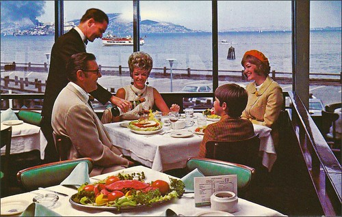 Franciscan Restaurant San Francisco California 1960s