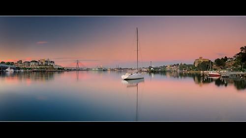 panorama sunrise bay pano gerry johnstons