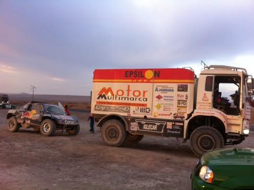 Burgaleses al Dakar