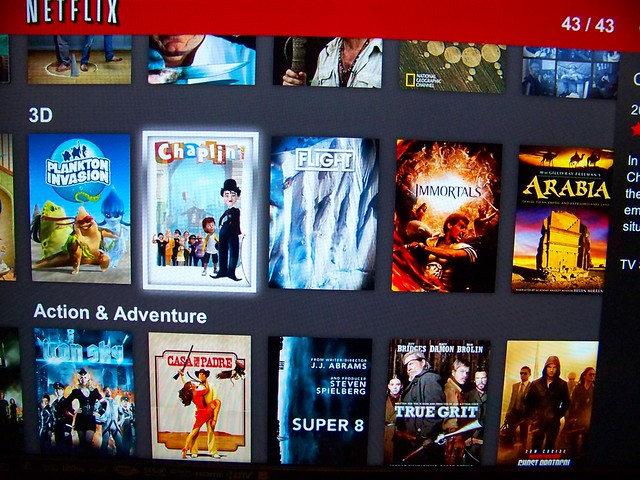 Netflix S First 3d Streaming Movies Flickr Photo Sharing