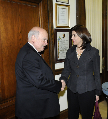 OAS Secretary General Meets with Colombian Foreign Minister