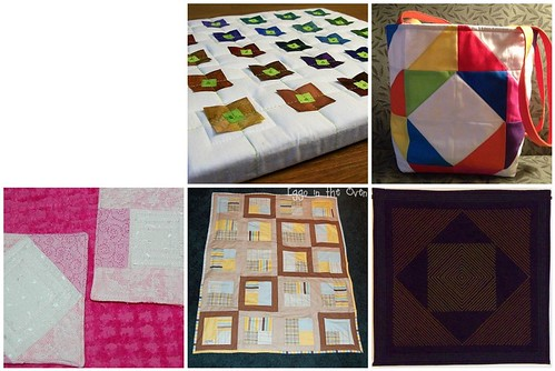 Project QUILTING, A square in a square challenge, a closer look part 2
