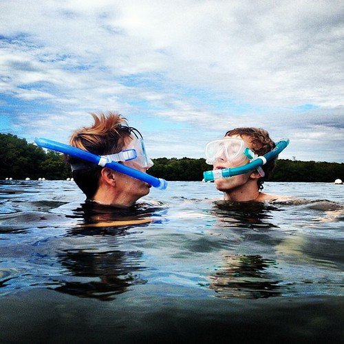 Me and Zeb courtesy of @heathermattern #thebigchill13 #snorkeling #ocean