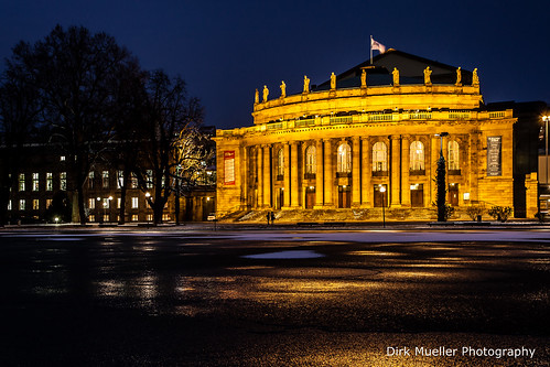 Stuttgarter Opera House by Dirk Mueller Photography