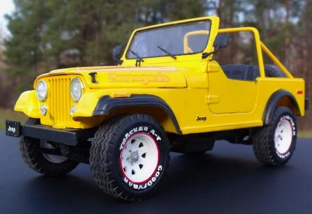 1977 Jeep CJ-7 Renegade 1:24 Revell 85-2180 Kit Review | Right On ...