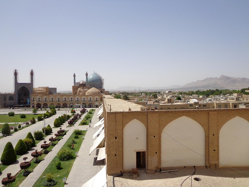 Photo of Imam Square UNESCO in Isfahan Iran