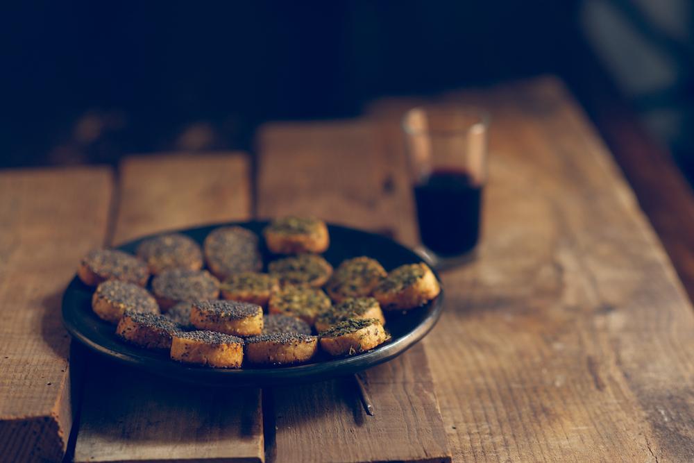 Galletas Sablé de Parmesano
