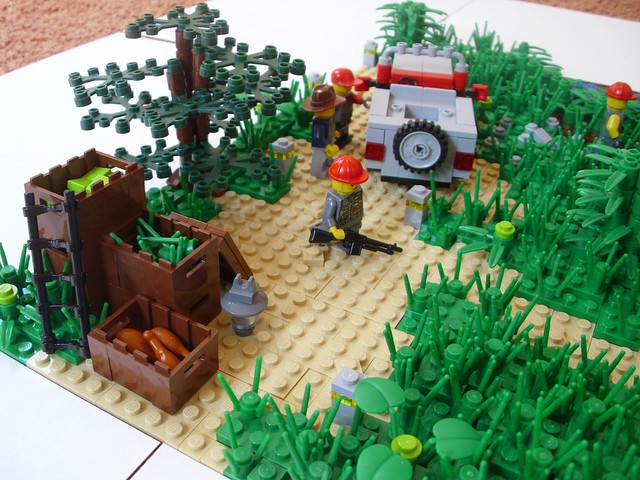 Lego jurassic park underground flickr photo sharing - Jurasic park lego ...