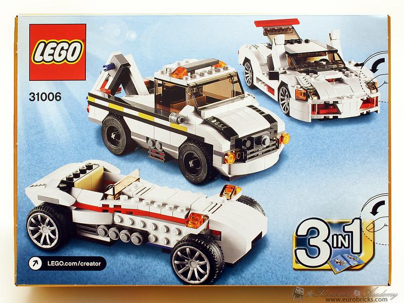 review 31006 highway speedster special lego themes eurobricks forums. Black Bedroom Furniture Sets. Home Design Ideas