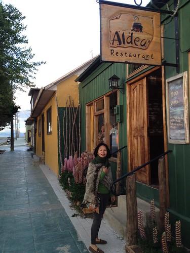 Puerto Natales, Irene Khin at Torres del Paine