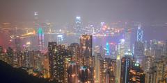 IMG_0063_65 從凌霄閣看香港夜景 HDR