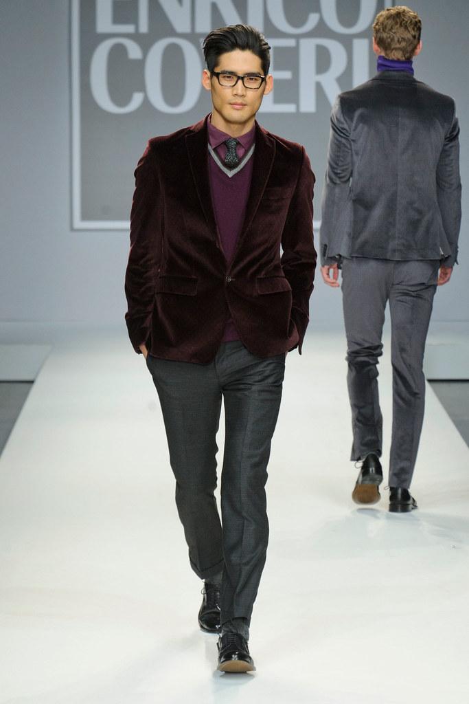 FW13 Milan Enrico Coveri018(fashionising.com)