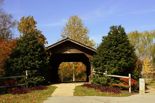 Parks Covered Bridge - Trimble, TN