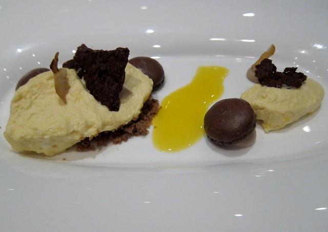 Gourd - chocolate, spice, streusel, chestnut