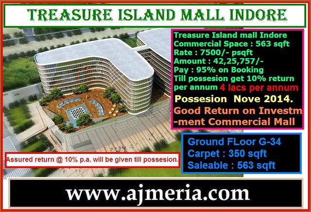 Treasure Island Indore Sale
