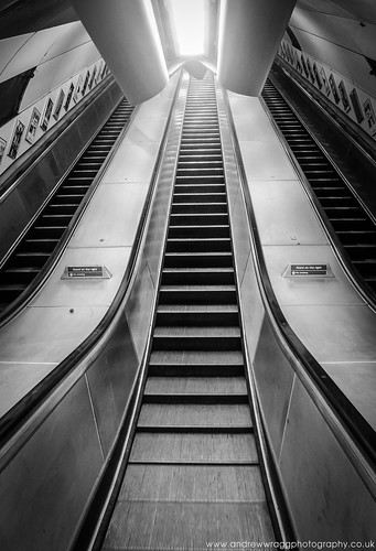 Day 28 of 365 - Empty Escalators by Andrew Wragg