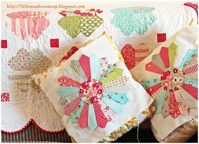 Dresden Plate Pillows