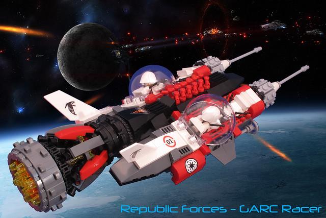 Republic Forces Garc Racer #02