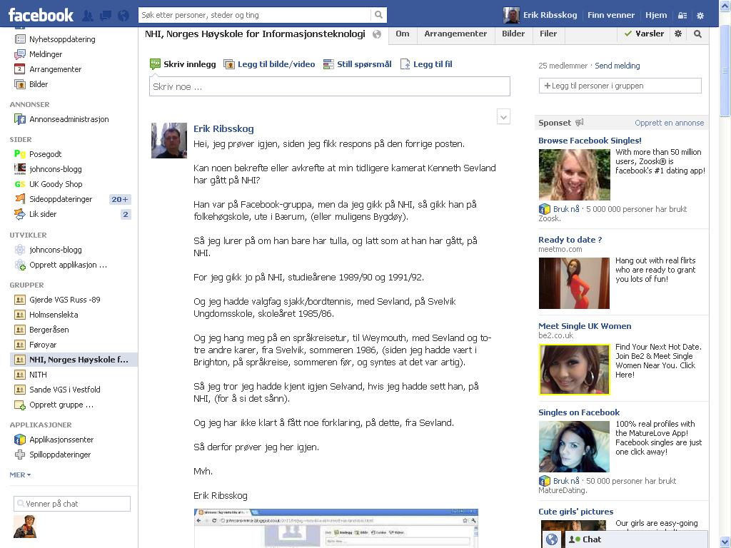 facebook sevland hm