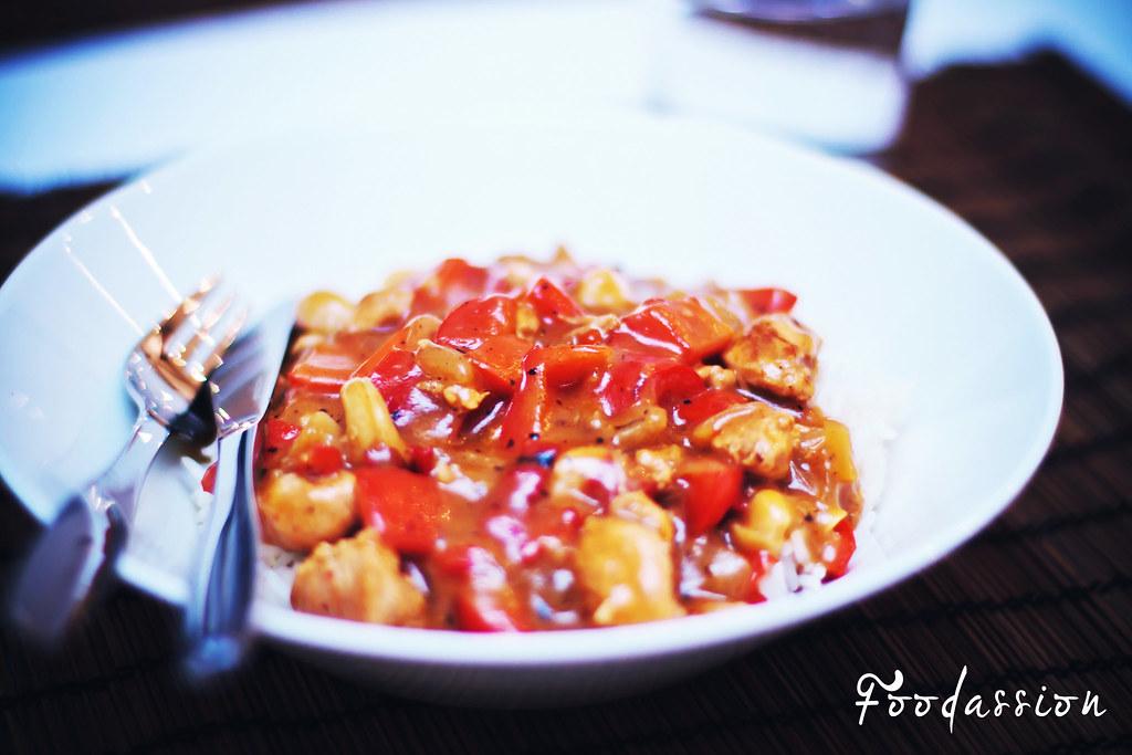 Intialainen chilikookoskana