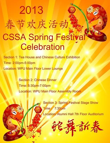CSSA 2013 Spring Festival Celebration
