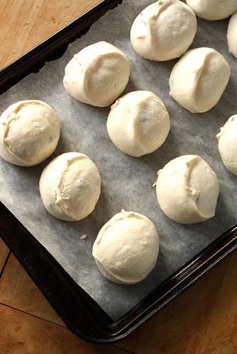 Chocolate Raspberry Meringues