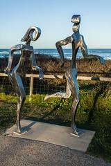 Sculpture of Runners