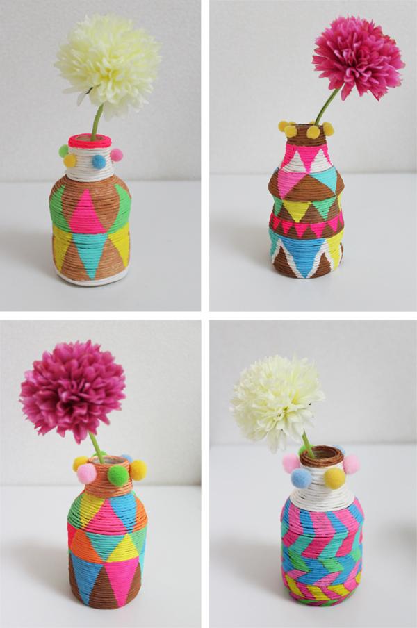 african mini vase