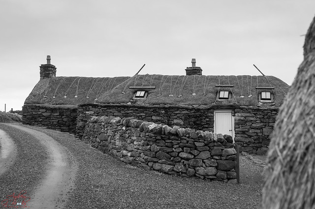 Black House at Arnol, Isle of Lewis - Outer Hebirdes
