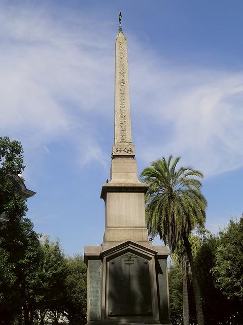 Obelisk of Dogali, Viminal Hill, Rome