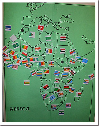 African Flags (Photo from My Little Princess World)