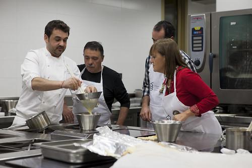 taller cafeteria Basque Culinary Center