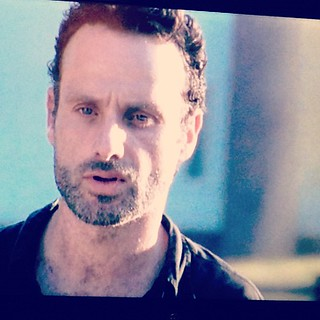 Day43 ending the night watching The Walking Dead on Netflix  2.12.13 #jessie365