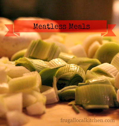 Meatless Recipe Round up for Lent