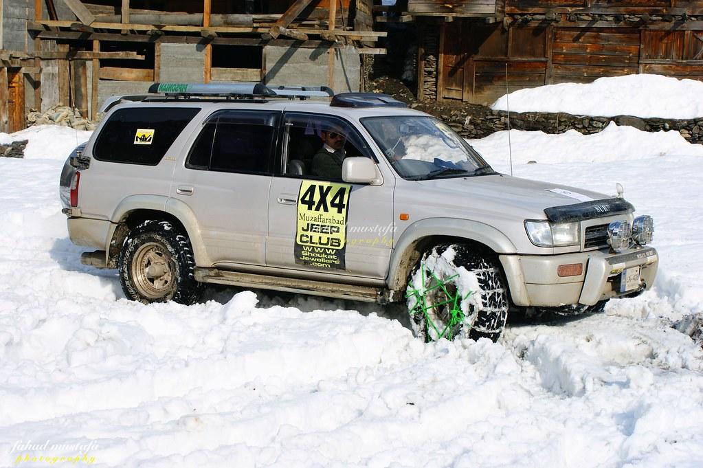 Muzaffarabad Jeep Club Neelum Snow Cross - 8470934459 a4df08d91a b
