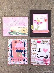 Iron Craft '13 #3 - Valentine's Day Cards (Hearts & Flowers)