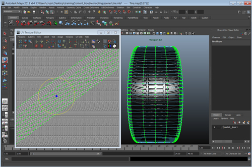 Maya] Viewport 2 0 Not Refreshing with UV Changes | 3D Gumshoe