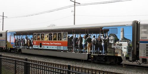 oregon coast coach 14 wrap eugene amtrak starlight 34510